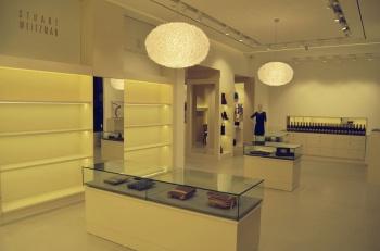 Interiér obchodního butiku na míru