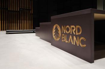 Interiér prodejny NordNBlanc na míru