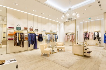 vybavení luxusní prodejny na míru