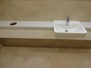 Interiér toalet na míru