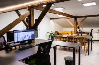 Interiér kanceláře na zakázku