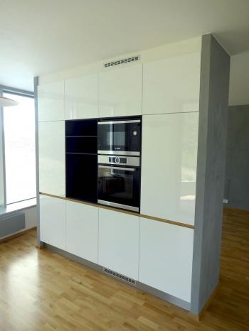 Kuchyně na míru do bytu - Brno Netroufalky