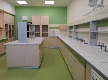 Interiér laboratoří Mendelovy univerzity na míru