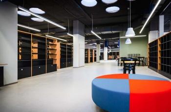 Nábytek na míru do městské knihovny